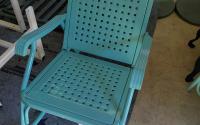 Powder Coated Vintage Metal Chair