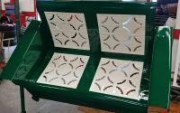 Vintage Metal Glider Powder Coated