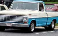 1967 Ford f100 grille anodized silver