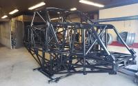 Semi gloss black monster truck frame