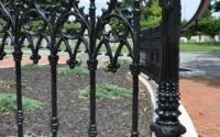 Powder Coated Cast Iron Fence